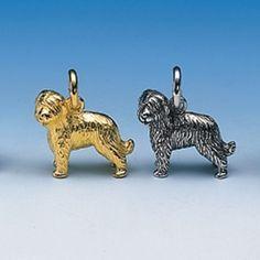 Anhänger BriardBreite 19 mm / Höhe 17 mmSilbergewicht: 7,5 gWerte Kunden, diese Artikel werden erst nach Ihrer Bestellung von unserem Goldschmied angefertigt.