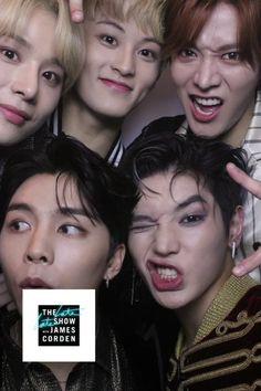 Winwin, Jaehyun, J Pop, Nct Taeyong, Nct Dream Renjun, Hip Hop, Johnny Seo, The Late Late Show, Boy Photography Poses