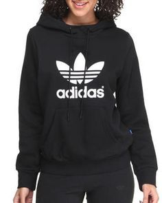 Love this Trefoil Logo Hoodie by Adidas on DrJays.