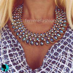 Náhrdelník Tribal Blue  http://femmefashion.sk/nahrdelniky/2355-nahrdelnik-tribal-blue.html