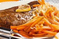 Besugo con jengibre y zanahorias  Acompañá la carne con vegetales y especias.         Foto:Magalí Saberian