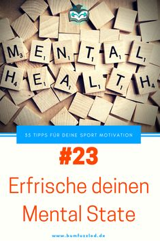 Sport Motivation Tipp 33: Erfrische deinen Mental State. #motivationssprüche #motivation #motivated #motivationalquotes #motivationalmonday