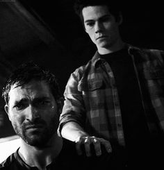 Sterek ♥ I will go down with this ship! Stiles comforting Derek is just the best thing to happen to the fandom :)