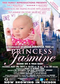 Custom Disney princess inspired baby girl birth announcement. Kate Guerin.... You see this?!?!?