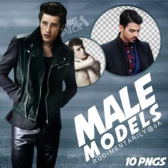 PNG PACK #1 - Random Male Models by rudimentarily on @DeviantArt