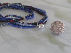 SILVER BALL BEADED NECKLACE