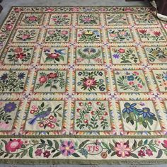 I can't even tell you how thrilled I am! My version of the Caswell quilt is a completed top! Initially I had wanted to finish the top by th...