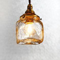 安土草多 ペンダントライト 角B クラック Room Lights, Ceiling Lights, Interior And Exterior, Interior Design, Kitchen Lamps, Decorative Bells, Lighting Design, Ideal Home, Perfume Bottles