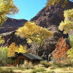 Reached by foot, mule, or river, Phantom Ranch is the only lodging below the rim of the Grand Canyon.