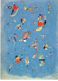 Kandinsky カンディンスキー 空の青