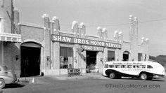 Art Deco Shaw Bros Service Station