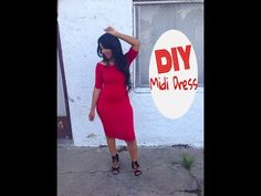 DIY: Midi Dress - YouTube