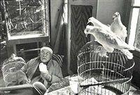 Henri Matisse, Vence, France by Henri Cartier-Bresson
