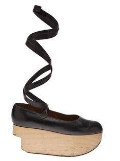 VIVIENNE WESTWOOD VINTAGE - 1986 Rocking Horse ballerina shoe 6