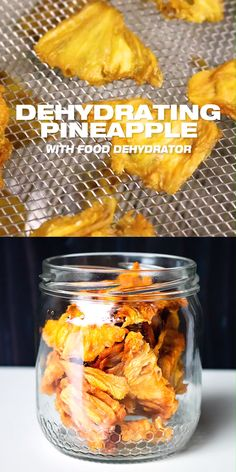 Dehydrated Pineapple - How to dry pineapples options). Also, learn to use a food dehydrator to make DIY healthy dried fruits at home. Healthy Fruits, Healthy Snacks, Healthy Fruit Recipes, Dehydrator Recipes, Dehydrated Food Recipes, Fruit Dehydrator, Best Food Dehydrator, Dehydrated Vegetables, Snacks
