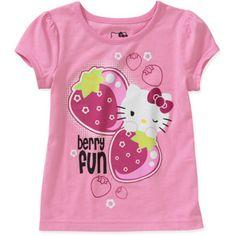 Hello Kitty Baby Girls' Scented Graphic Tee- Say Whaaa?! #BerryFun #HelloKitty