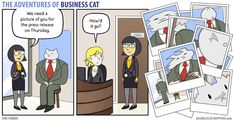 The Adventures of Business Cat — (via Business Cat - Photo)