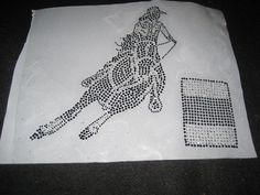 Rhinestone and Crystal Heat Transfer of Barrel Racer by cthorses66, $12.00
