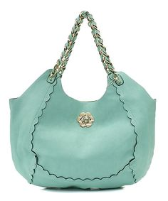 Sadie 2 in 1 Satchel Set in Soft Mint