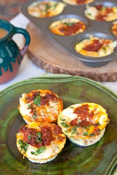Mini Chorizo and Cheese Quiches - The best part is that they can be made ahead and frozen. Make a giant batch this month, store them in a freezer bag and then pop a few or so out at a time for unexpected guests, parties, or an evening you do not want to make dinner. They reheat nicely in the microwave or in bulk in the oven.