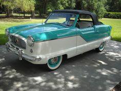 1959 Nash Metropolitan Convertible