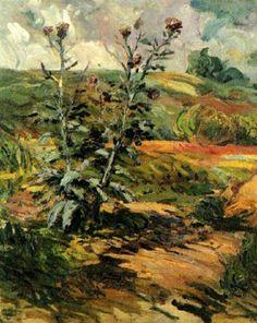 Two Thistles 1888 Vincent van Gogh