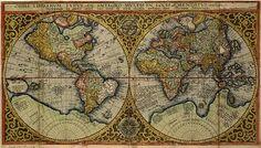 Ancient World Maps: 16th century