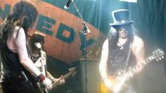 """SLASH Pays Tribute To LEMMY With 'Ace Of Spades' Performance (Video) SLASH Pays Tribute To LEMMY With 'Ace Of Spades' Performance (Video)        SLASH FEATURING MYLES KENNEDY & THE CONSPIRATORS  paid tribute to iconic  MOTÖRHEAD  frontman  Ian """"Lemmy"""" Kilmister  last night (Thursday December 31) by performing the  MOTÖRHEAD  classic  """"Ace Of Spades""""  during their concert at the House Of Blues in Las Vegas Nevada. Fan-filmed video footage of the performance can be seen below.         Slash…"""