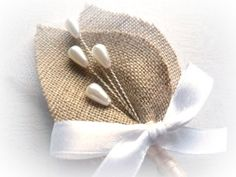 SET of 5 Rustic Wedding Men Accessories, Groom, Boutonniere, Pin, Beige Leafy Groomsman, Country Weddings, White Tulle, Burlap, Shabby Chic on Etsy, $40.00