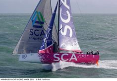 Photo by Rick Tomlinson - This shot was taken during a photo shoot with Team SCA brandnew Volvo Ocean 65.