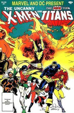 Uncanny X-Men and The New Teen Titans.