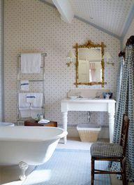 Destination bathrooms on pinterest bathroom tubs and bath for English cottage bathroom ideas