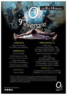 Actividades 9º Aniversario