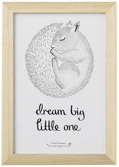Köp Bloomingville Tavla Dream Big 20x30 598f74aa95cf6