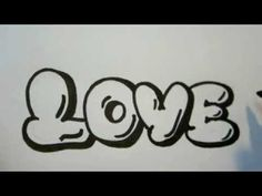 Step By Step How To Draw Graffiti Letters Bubble Letters