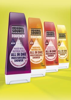 Original Source expands range with new Skin Quench All in One Moisturising Shower range