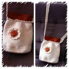 Lille hækle taske DIY..