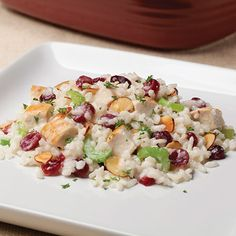 Autumn Risotto with Chicken & Cranberries - The Pampered Chef®