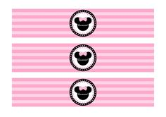FREE PINK Minnie Mouse Birthday Party Printables from Printabelle | Catch My Party
