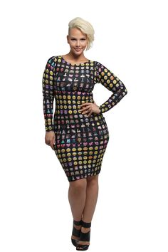Deja Emoji Dress - Dresses - New