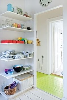 Great use of a corner space