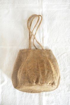 Sophie Digard Raphia Round Bag - Natural S007 | MAKIE HOME