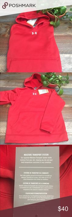 🛍🎁🎄🛍NWT YOUTH UNDER ARMOUR Brand new unisex Under Armour Hoodie.. get a jump start on your holiday shopping🎁🎊🎁 stay warm my friends 😊 Under Armour Shirts & Tops Sweatshirts & Hoodies