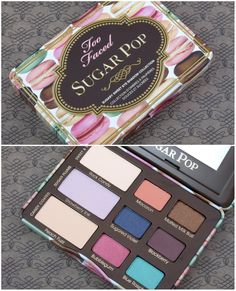 Too Faced Sugar Pop Sugary Sweet Eye Shadow Collection: Review and Swatches