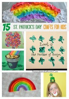 15 St. Patrick's Day Crafts For Kids
