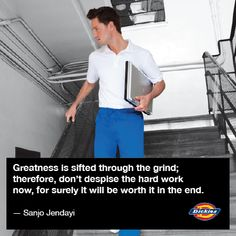 #greatness #diligence #inspiration #inspirational #quote #nurse #nursing #dickies