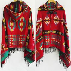 Big scarves winter scarf cashmere poncho women Bohemian Shawl Scarf Tribal Fringe Hoodies blankets Cape shawl Ponchos and Capes - free shipping worldwide $22.49