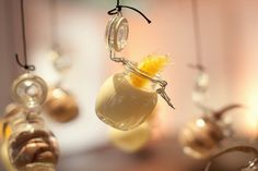 Why have ordinary dessert when you can have flying dessert for your wedding?