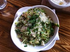 Brussels sprout salad @ Abigaile in Hermosa Beach, CA.