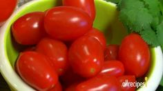 Dicing Fresh Tomatoes  A tomato is technically the fruit of the tomato plant, but it's used as a vegetable in cooking.